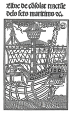The Consolat de Mar was a secular commercial and maritime institution. The statutes included in this book became common law for financial activities