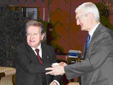 Solemne Sesión Académica conjunta con la Polish Academy of Science