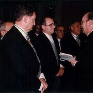 Ingreso en la RACEF de D. Abel Matutes Juan como académico correspondiente.23/5/91 - 23/05/1991