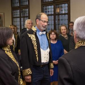 Momento de toma de juramento al Dr. D. Alvin E. Roth  - 30/03/2017
