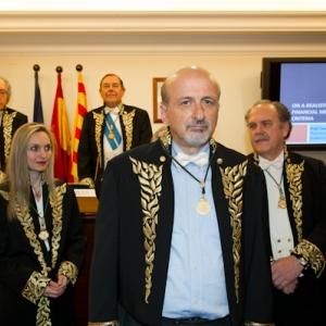 Ingreso del Académico Correspondiente para Grecia Constantin Zopounidis - 21/03/2013