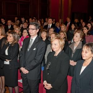 Asistentes del ingreso de Ana María Gil Lafuente  2013-01-24 - 24/01/2013