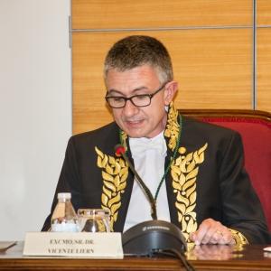 Ingreso como Académico de Número de Vicente Liern, 14/04/2016 - 16/04/2016