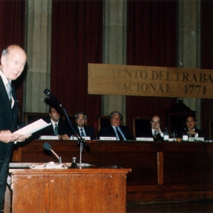 Admission as corresponding academician for France Dr. D. Valery Giscard d'Estaing. (05-10-1995) - 10-05-1995