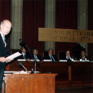 Ingreso como académico correspondiente para Francia Dr. D. Valery Giscard d'Estaing. (05-10-1995) - 05/10/1995