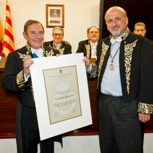 Ingreso del  Ilmo. Sr. Dr. D. Constantin Zopounidis correspondiente para Grecia 21/03/2013 - 21/03/2013