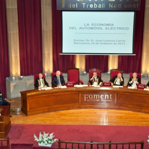 Tribuna presidencial del ingreso del Excmo. Sr. Dr. D. Juan Llorens Carrió 24/10/2013 - 24/10/2013
