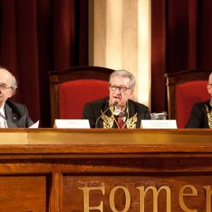 Presidencia del ingreso del Excmo. Sr. Dr. D. Antoni Castells Oliveres, 20/02/2014 - 20/02/2014