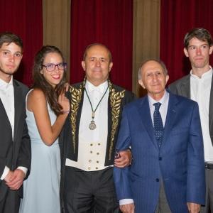 Admission of Ricardo Hernández Mogollón as Corresponding Academician for Extremadura, 06/15/2017 - 06-15-2017