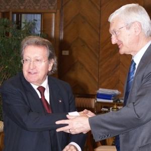 Excmo. Sr. Dr. D. Michal Kleiber, Presidente de la Polish Academy of Sciences - 12/02/2008