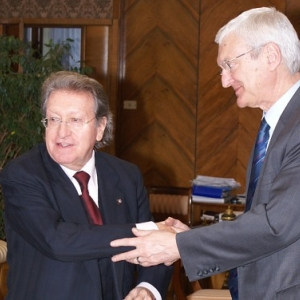 Excmo. Sr. Dr. D. Michal Kleiber, Presidente de la Polish Academy of Sciences - 12/02/2008