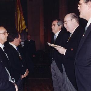 Ingreso de Mario Aguer Hortal 21/02/2000  - 21/02/2000