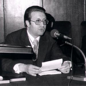 Ingreso como académico de número Dr. D. Jaime Gil Aluja. 29/4/76 - 29/04/1976