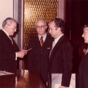 Ingreso Excmo. Sr. Dr. D. Juan Miguel Villar Mir. 27/1/77 - 27/01/1977