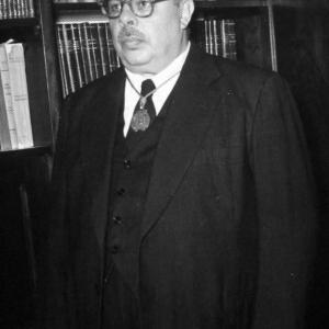 Recepción del Ilmo. Sr. Dr. D. Jaime Nicasio Mosquera - 29/04/1954