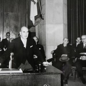 Ingreso del Dr. Antonio Polo como académico de número de la RACEF - 26/11/1961