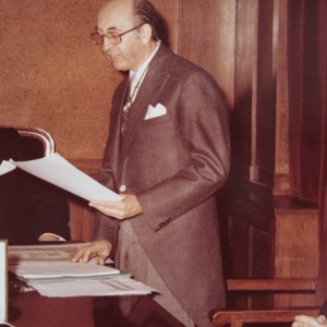 Ingreso del Sr. D. Jean Joly como académico correspondiente para Francia de la RACEF - 27/01/1978