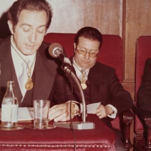 Ingreso del Dr. Alfonso Rodríguez Rodríguez como académico de número en la RACEF - 27/02/1978
