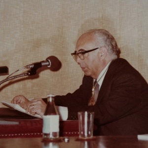 Ingreso del Dr. Mariano Capella San Agustín como académico de número en la RACEF - 15/06/1978