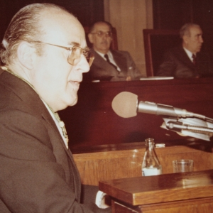 Ingreso del Dr. José María Codony Val como académico de número en la RACEF - 12/12/1978