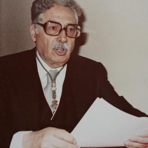 Ingreso del Dr. José Barea Tejeiro como académico correspondiente en la RACEF - 10/05/1983