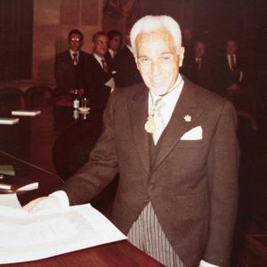 Ingreso del Dr. Rafael Termes Carreró como académico de número en la RACEF - 29/10/1984