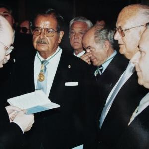 Ingreso del Dr. Francisco Jover Balaguer como académico correspondiente en la RACEF - 05/05/1994