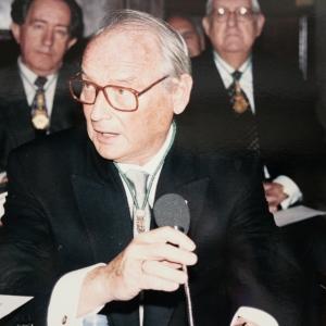 Ingreso del Sr. José Luis Martínez Candial como académico correspondiente en la RACEF - 18/01/1996