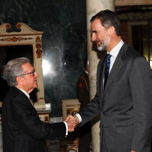 Recepción de SM el Rey Felipe VI a la Real Academia de Ciencias Económicas y Financieras, 27/02/2017 - 27/02/2017