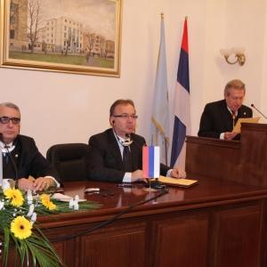 Solemne sesión académica en Banja Luka el 16 de mayo de 2011