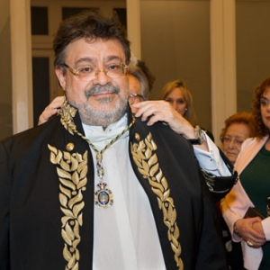 Admission of Enrique López as Corresponding Academician for Castilla y León 02/15/2018 - 02-15-2018
