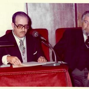 Ingreso del Ilmo. Sr. D. Francisco Javier Ramos Gascón, 15/02/1978  - 15/02/1978