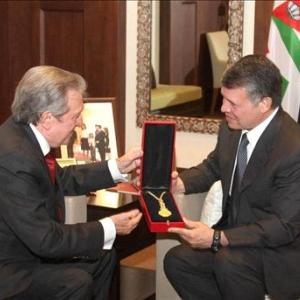 S.M. el Rey Abdalá II de Jordania - 08/11/2010