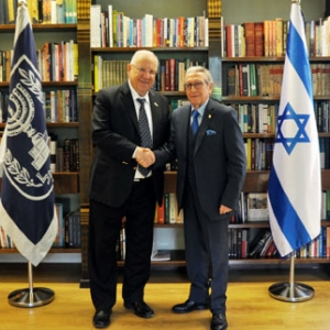 Gil Aluja meets with the President of Israel, Reuven Rivlin, 2/08/2018 - 02-08-2018