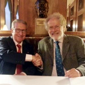 Jaime Gil Aluja y Anton Zeilinger, Presidente de la Academia de Ciencias de Austria, 25/06/2015 - 25/06/2015