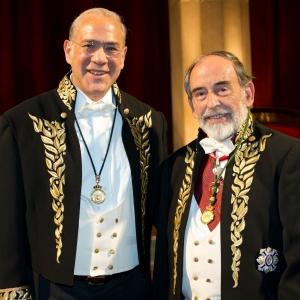 D. Gurría Treviño y Dr. Granell Trias en la RACEF (22-11-2012) - 22/11/2011