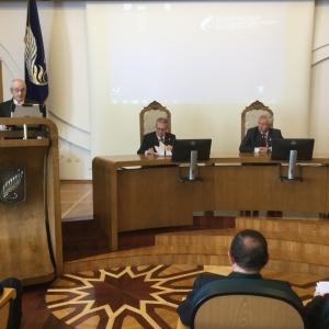 Acto Académico en Minsk con la Universidad Estatal de Bielorrusia - 16/05/2016