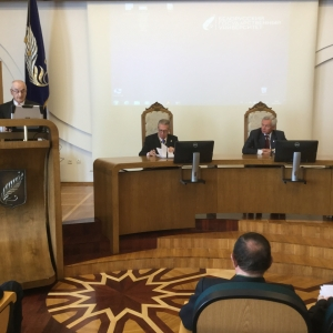 Academic Session in Minsk with the Belarus State University - 05-16-2016