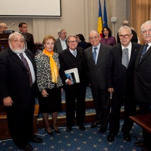 La RACEF participa en el proyecto de la Nueva Enciclopedia Rumana.  - 20/11/2012