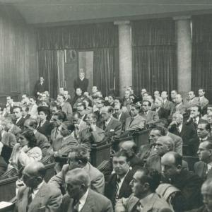 Inauguración del curso Académico 1946-1947 (domingo 3 de noviembre 1946) - 03/11/1946