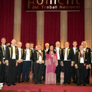 Ingreso en la RACEF como académica correspondiente para el Reino Hachemita de Jordania SAR Sumaya bint El Hassan (07-06-2012) - 07/06/2012