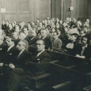 Ingreso en la RACEF de los académicos Sres. Blanco, Núñez, Piqué, Gardó, Ganduxer, Cereceda y Lluch - 15/12/1944