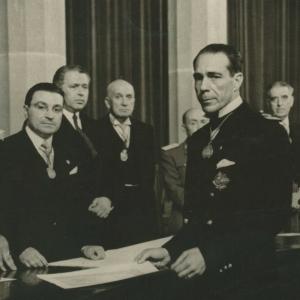 Ingreso en RACEF de D. Joaquín Buxó Dulce de Abaigar Marqués de Castell-Florite - 10/06/1949