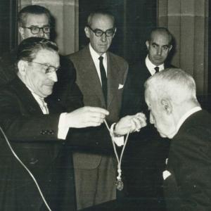 Ingreso en la RACEF del Dr. Félix Escalas Chamení (13-11-1960) - 13/11/1960