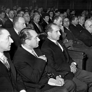 Ingreso como Académico Correspondiente de Manuel Fuentes Irurozqui, 13/11/1955 - 13/11/1955