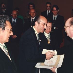Ingreso en la RACEF del académico correspondiente para Navarra Dr. Miguel Alfonso Martínez Echevarría (18-04-1991) - 18/04/1991