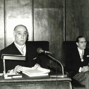 Ingreso del  Sr. Noguera Salort en la RACEF - 26/02/1976