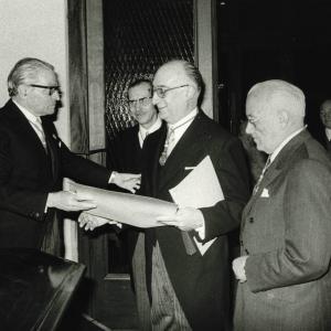 Acto de ingreso en la RACEF del Sr. Noguera Salort - 26/02/1976