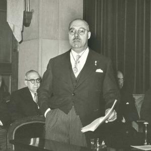 Ingreso en RACEF Dr.Román Perpiñá Grau (18-11-1956) - 18/11/1956