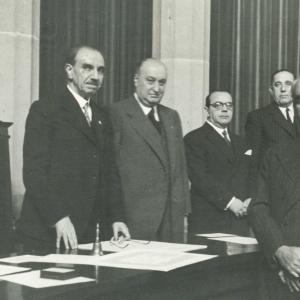 Ingreso en RACEF del académico correspondiente por Madrid D. Antonio Rodríguez Sastre - 03/11/1946